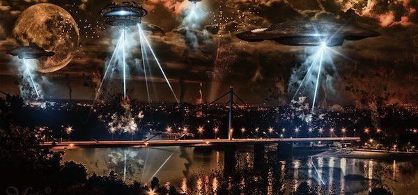 et alien invasion fake