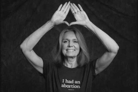 i had an abortion gloria steinem illuminati sign