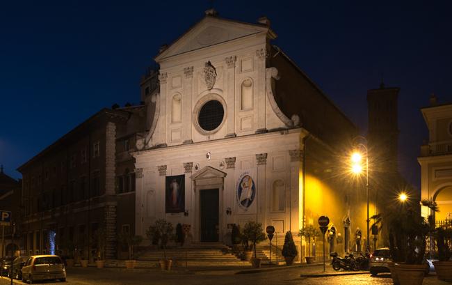 hoofdkwartier van de jesuits